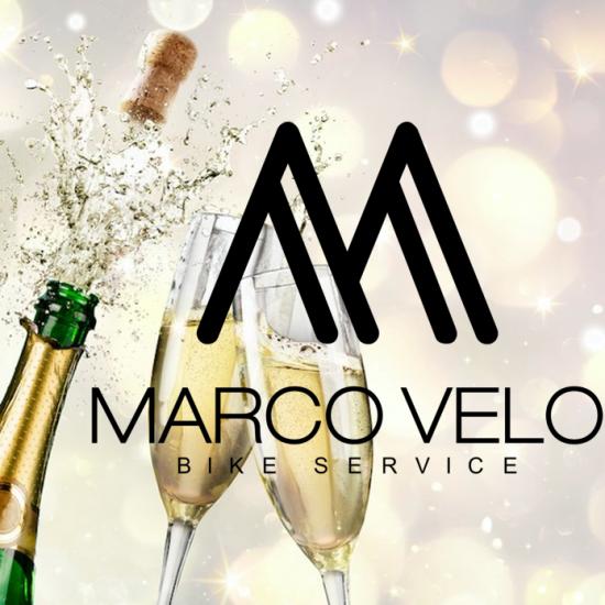Marco Velo Bikes Service is een feit en logo viekant
